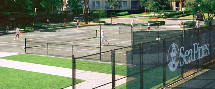 sea pines tennis courts